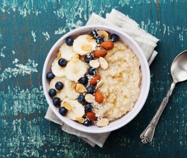 porridge que comer después de entrenar